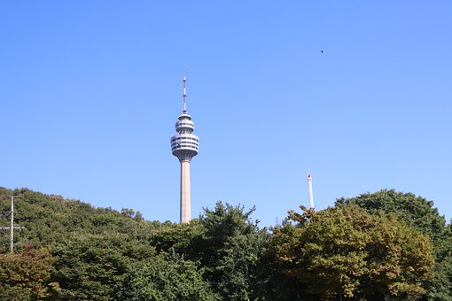 Observatory, View Tower, Aerial, Daegu 83 Tower