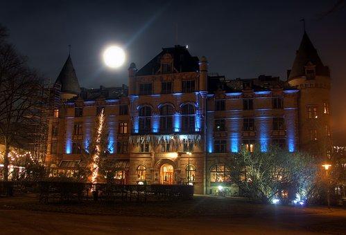 Lund, Sweden, Grand Hotel, Building, Architecture