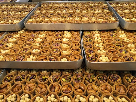 Baklava, Turkish, Sweet, Traditional, Honey, Baked