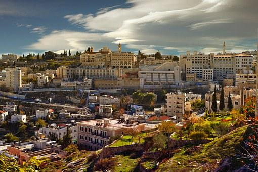 Bethlehem, City, Homes, Hill, View, West Bank
