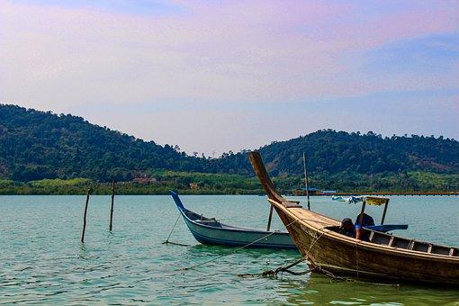 Malaysia, Boat, Island, Water, Sea, Travel, Asia, Ocean
