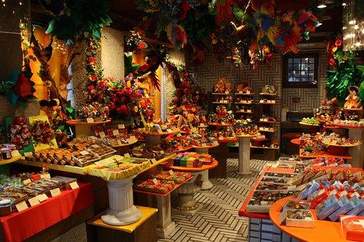 Candy Store, Chocolate Shop, Chocolate, Switzerland
