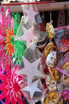 Star, Colorful, Christmas, Poinsettia, Deco, Bethlehem
