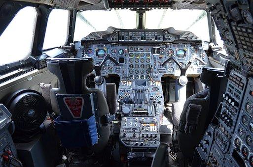 Control Panel, Cabin, Inside, Concorde, Cockpit, Plane