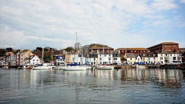 Weymouth, Harbour, Sea, Dorset, England, Town, Harbor