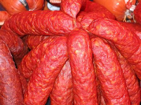 Salami, Sausage, Food, Eat, Delicious, Smoked