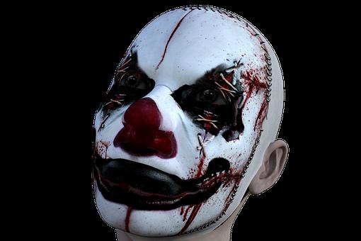 Clown, Evil, Horror, Halloween, Scary, Fear, Spooky
