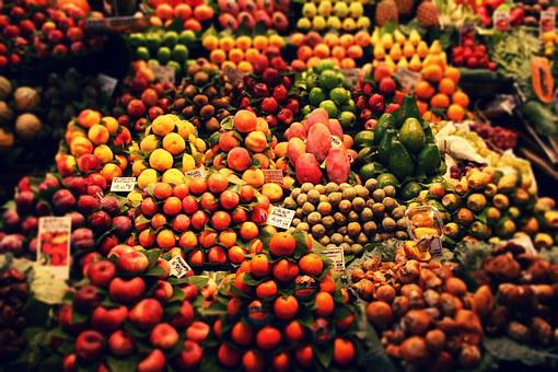 Fruit, Fruit Stand, Market, Food, Healthy, Market Stall