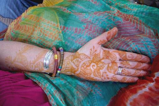 Henna, Decoration, Culture, Design, Indian, Floral
