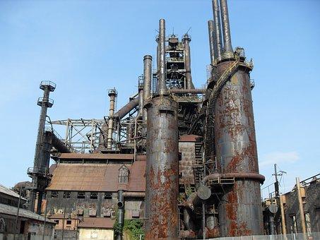 Industry, Old, Bethlehem, Steel, Pennsylvania