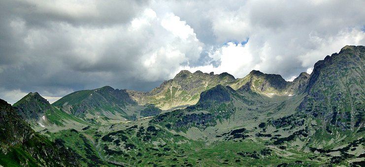 Tatry, Mountains, Valley Of Five Ponds, Landscape
