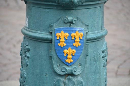 Coat Of Arms, Wiesbaden, Lantern, City