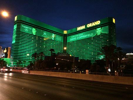Las Vegas Strip, Mgm Grand, Hotel, Gaming, Gambling