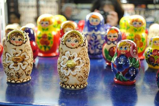 Matryoshka, Doll, Russian, Traditional, Czech, Colorful