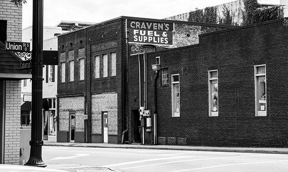 Historical Building, Downtown Concord, North Carolina