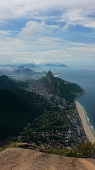 Panorama, Rio De Janeiro, Pedra Da Gavea, High