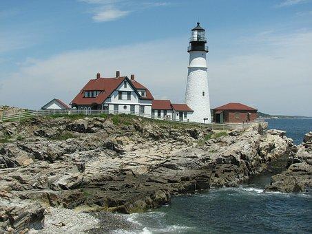 Portland Headlight, Lighthouse, Portland, Maine