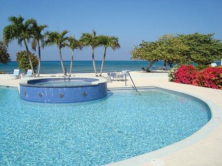 Grand Cayman, Swimming Pool, Summer, Water, Resort