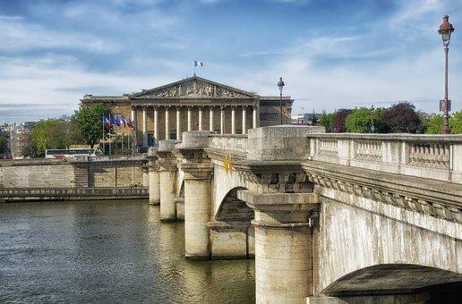 Pont De La Concorde, Paris, France, Bridge, River
