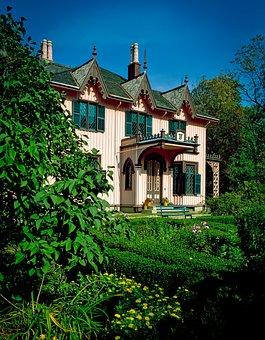 Roseland Cottage, Woodstock, Connecticut, Landmark
