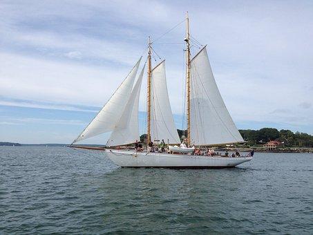 Sail Boat, Boat, Sailing, Sail, Sailboat, Travel