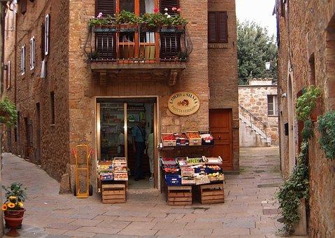 Business, Music, Sale, Toscana, Village, Alley