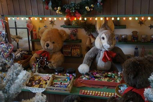 Christmas Market, Stand, Sales Stand, Stall