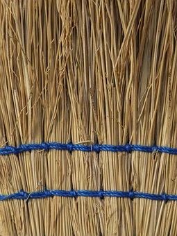 Straw, Broom, Tool, Household Tool, Housework, Cleaning