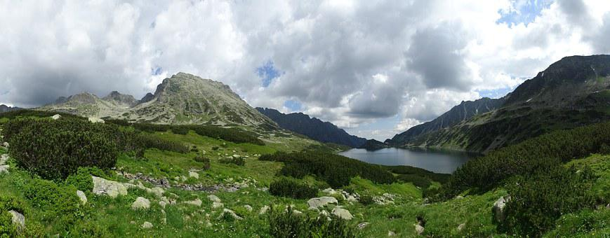 Tatry, Mountains, Valley Of Five Ponds, The High Tatras