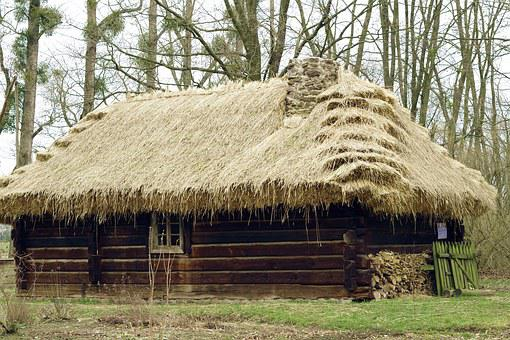 Cottage, Thatched, The Roof Of The, Open Air Museum