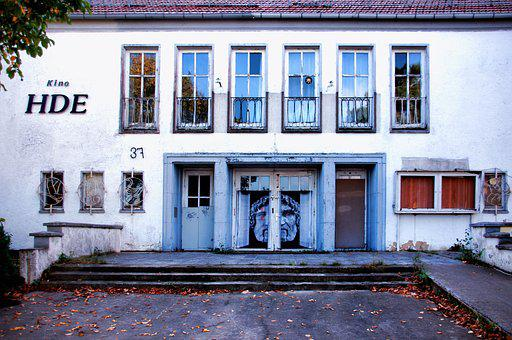 Cinema, Building, House, Architecture, Usedom