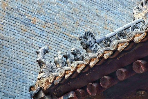 China, Shaanxi Province, Xi'an, Building, Tourism