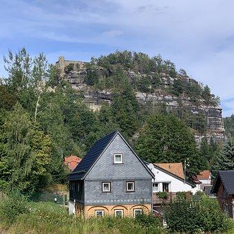 Oybin, Zittau, Narrow Gauge Railway, Lausitz, Mountains