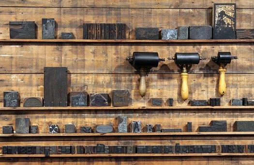 Press Room, Cherryburn, Printing, Engraving, Ink