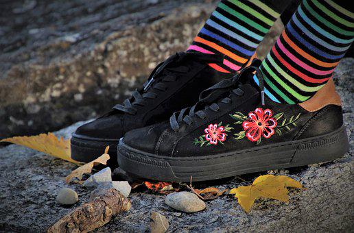 Black, Lacie, Sneakers, Cool, The Structure Of The