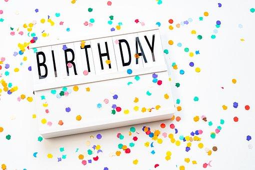 Birthday, Public Holiday, Celebration, To Celebrate