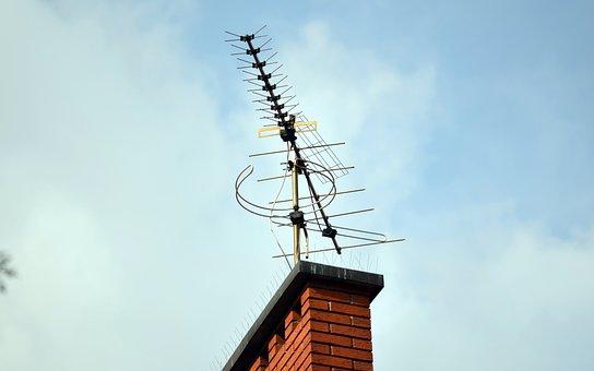 Antenna, Tv, Telecommunications, Radio, Technology, Top