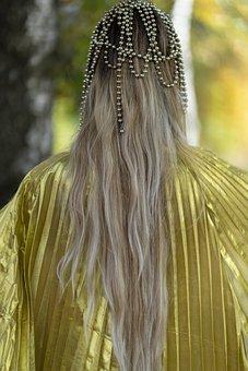 Long Hair, Hair, Golden, Gold, Blond, Blonde