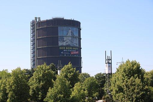 Gasometer, Oberhausen, Industrial Heritage