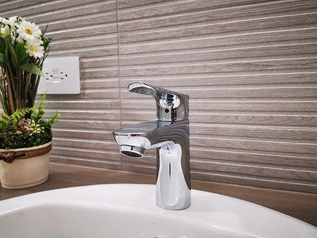 Bathroom, Water Tap, Faucet, Plumbing, Water, Wash