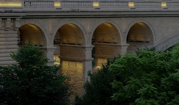 Roman, Bridge, Architecture, Luxembourg, City