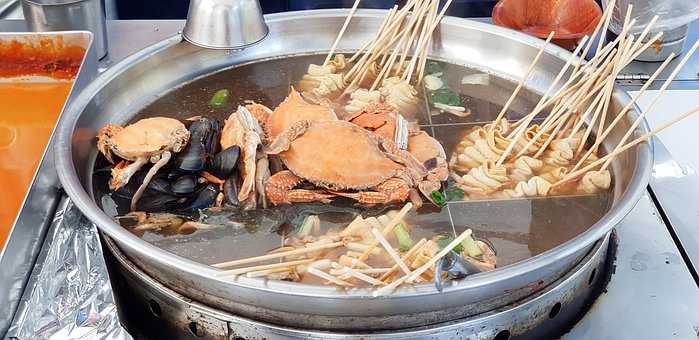 Oden, Fishcake, Template, Market, Korean, Food, Eat