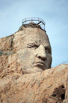 Crazy Horse Memorial, Native American, Usa