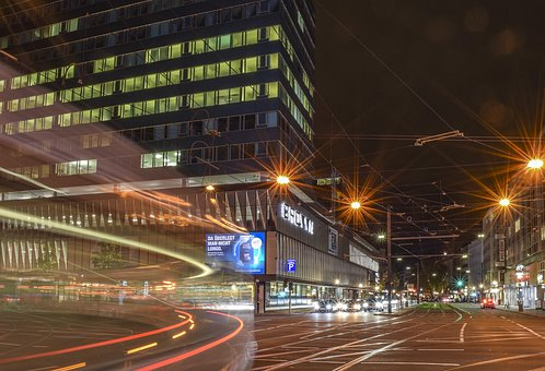 Road, Night, City, Traffic, Lighting, Urban