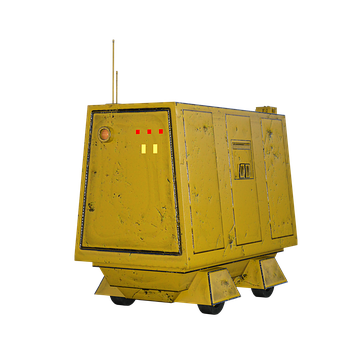 Robot, Container, Transport Vehicle, Self-propelled