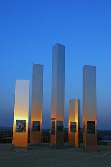 Pforzheim, World War, Memorial, Wallberg, Memory, Steal