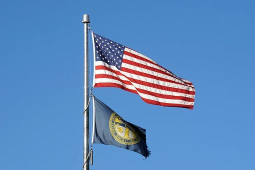 Usa, Flag, America, American, Stripes, Patriotic