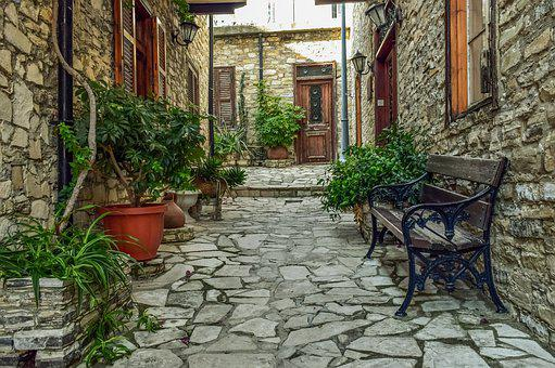 Backstreet, Village, Architecture, Traditional, Stone