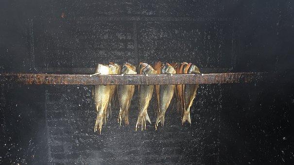 Smoked Herring, Fish, Smoked, Food, Herring