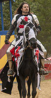 Knight, Horse, Tournament, Battle, Joust, Jousting